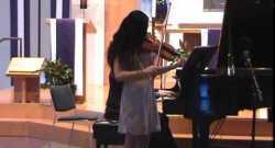 Baklanova: March, for violin