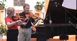 J. S. Bach: Minuet, violin